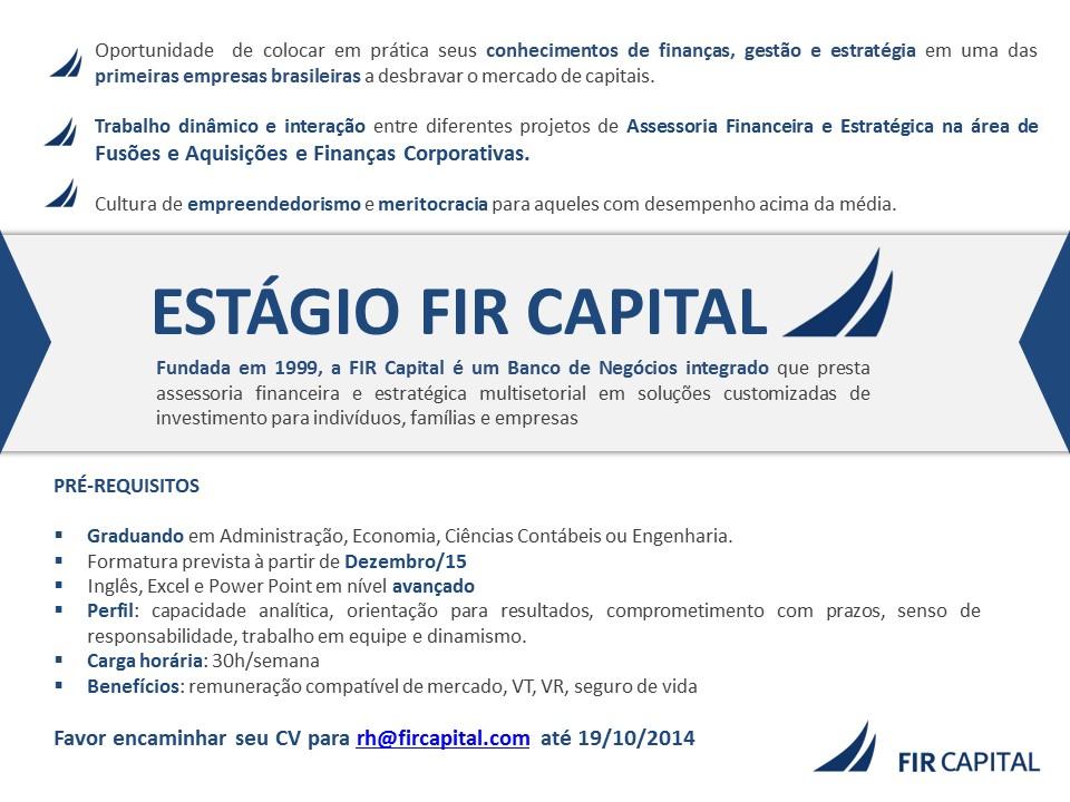 Pôster - Estágio FIR Capital 1 10